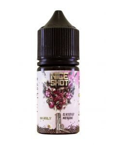 BLACKBERRY MACAROONS - Nice Shot Salt 30ml