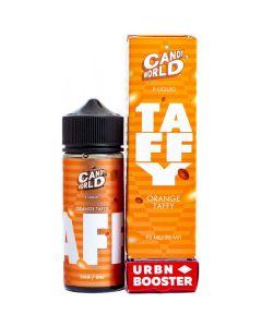 Orange Taffy - CANDY WORLD  SHORTFILL 95ml