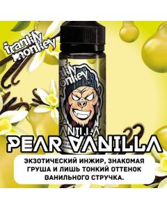 PEAR / VANILA - Frankly Monkey Low Cost Edition 120ml