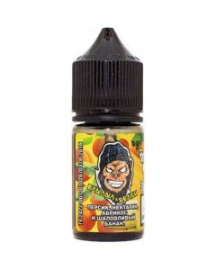 BANANA / PEACH - Frankly Monkey Low Cost Edition Salt 30ml