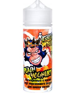 PEACH YOUGHURT - Frankly Monkey White 120ml