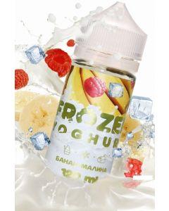 BANANA / RASPBERRIES - Frozen Yoghurt 120ml