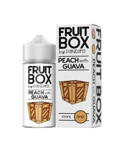 PEACH / GUAVA - Fruit Box By Panda's 100ml