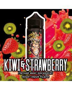 KIWI / STRAWBERRY - Frankly Monkey Black Edition 120ml