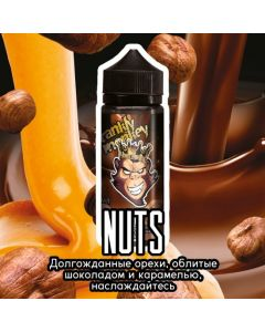 Nuts - FRANKLY MONKEY BLACK EDITION 120ml
