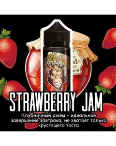 STRAWBERRY JAM - Frankly Monkey Black Edition 120ml
