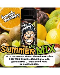 BANANA / PEACH - Frankly Monkey Low Cost Edition 120ml